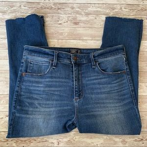 Abercrombie and Fitch Simone High Rise Ankle Jeans
